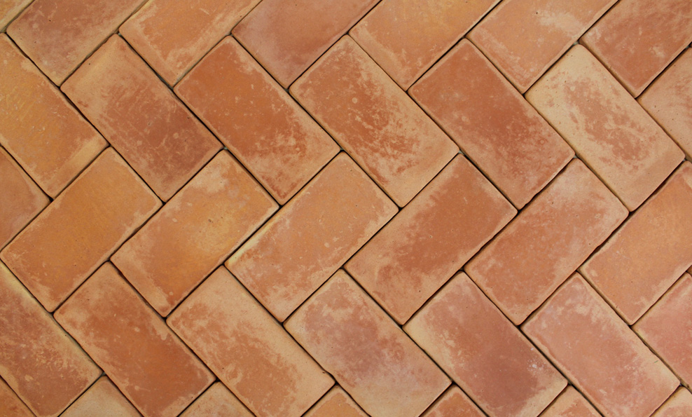 Tiles Terracotta Red and Yellow Gutka Tile Designs in Pakistan Size 8x4 Inch