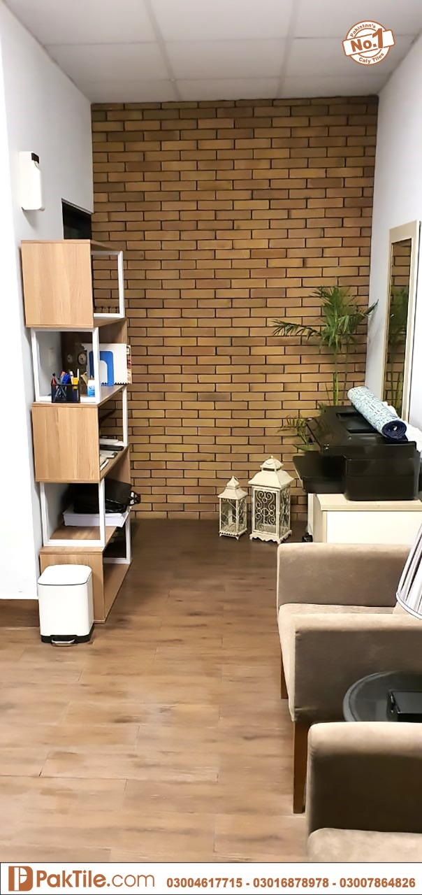 Yellow Gutka Tile Designs Interior Wall Bricks Tiles in Pakistan