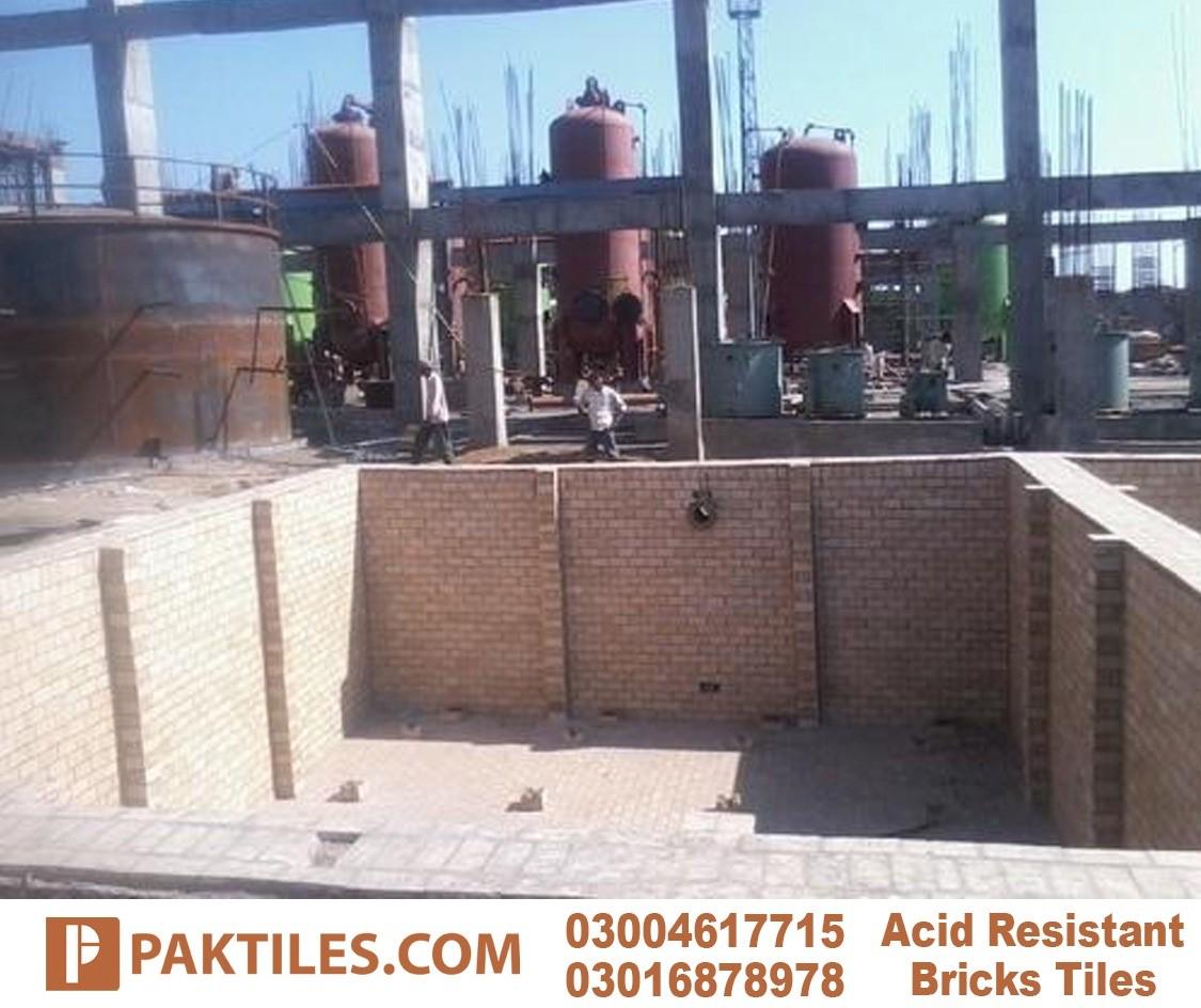 Acid resistant brick industrial flooring tiles option