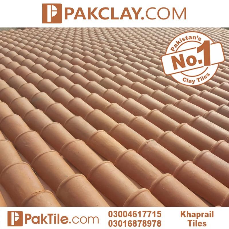 Natural clay industry khaprail tiles in Rawalpindi