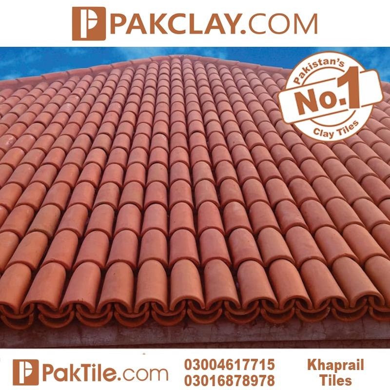 Pak Clay Roof Khaprail Tiles in Pakistan