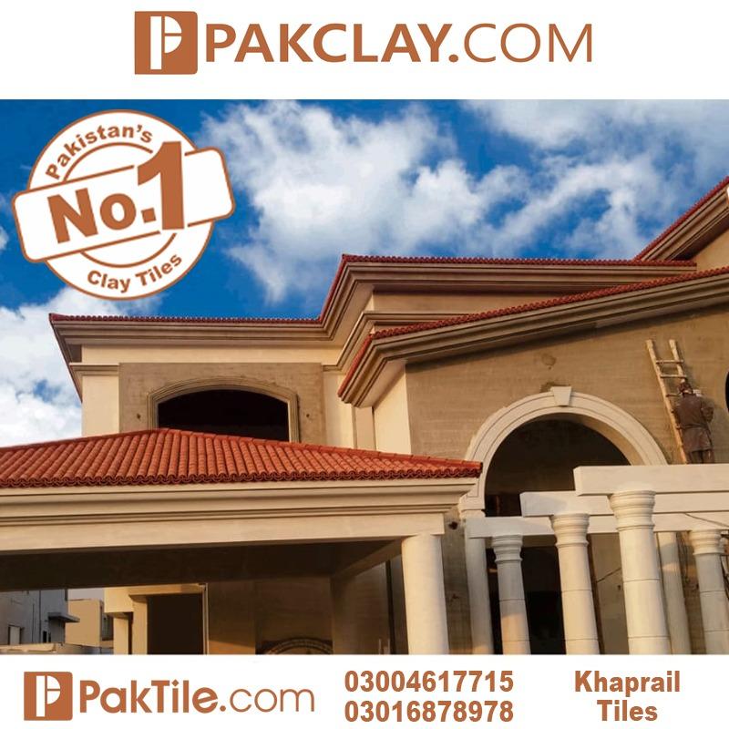 Pak Clay Modern Roof Khaprail Tiles House Design